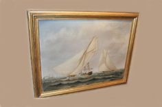 Sailboat Race by J.Payro from Brookline Village Antiques