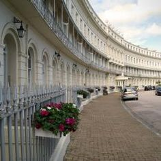 Hesketh Crescent - Torquay, Devonshire. One of the warmest spots in England. Birthplace of Agatha Christie