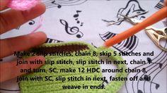 Prosta podkładka - kubek. A simple crochet coffee coaster