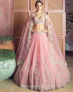Pink Bridal Lehenga, Designer Bridal Lehenga, Pink Lehenga, Indian Bridal Lehenga, Indian Bridal Outfits, Indian Designer Outfits, Bridal Lehenga Online, Lehenga Choli, Blouse Lehenga