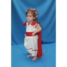 Traje de niña romana modelo 2