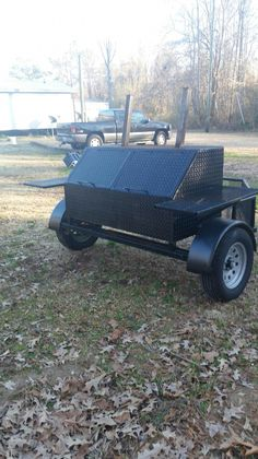 This is the basic 2 door , one rack grill. This grill is bent from a sheet of steel. Storage basket in the front. Grill Oven, Bbq Grill, Grilling, Custom Bbq Smokers, Custom Bbq Pits, Bbq Smoker Trailer, Barbecue Smoker, Welding Art Projects, Welding Ideas