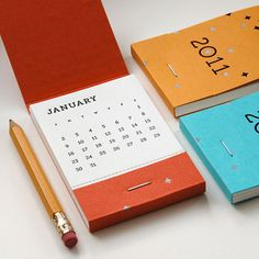 This is such clever idea - I love it. A petite, letterpress, matchbook calendar from Inkello . Pocket Calendar, Diy Calendar, Desk Calendars, Calendar Design, Bookbinding, Graphic Design Inspiration, Craft Fairs, Paper Goods, Print Design