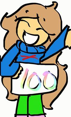 100 followers!!! Thank you!!!!!