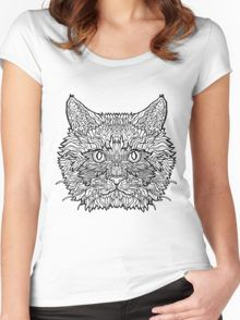 Ragdoll Cat - Complicated Cats Women's Fitted Scoop T-Shirt