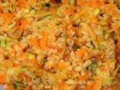 Salade de boulgour aux carottes et aux courgettes, Recette Ptitchef