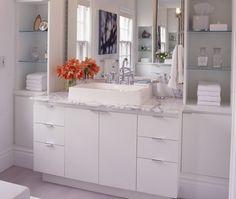 Se o banheiro fosse grande... - Casa de banho moderna | Eu Decoro