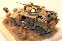 M1025 based dumvee Tamiya, Black Dog, Evolution Miniatures