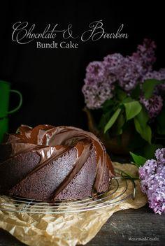 Manzana&Canela: Bundt cake de chocolate y Bourbon