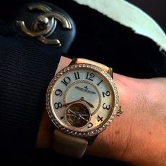 #Ladies and complication #watches we #love this combination @colman.jewelry.watches What do you think of this Jaeger-LeCoultre Rendez Vous #tourbillon..? #manufacture #hautehorlogerie #watchporn  #watchoftheday #watch #timepieces  #colmanantwerp #luxury #antwerp #timepieces #wristcandy #followme #luxurywatch #instamood #style #watchaddict #menstyle #beautiful #instawatch #amazing #happy #fashion #picoftheday #style #girl #l4l by colman.jewelry.watches