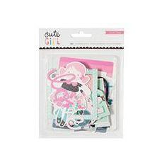 Cute Girl - Ephemera Pack