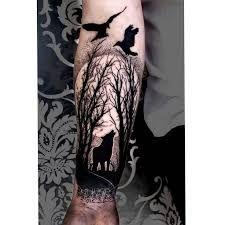 Resultado de imagen de forest tattoo