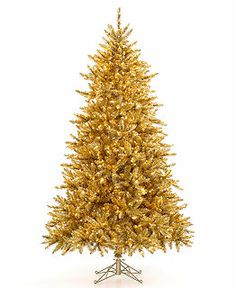 Love this Gold Christmas Tree
