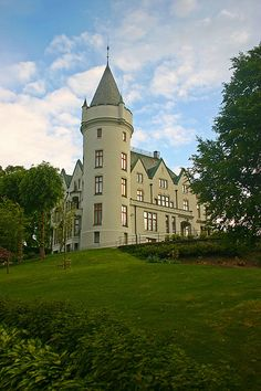 Gamlehaugen Castle an Evening in June -Bergen, Norway by bergensfjell - Flicker Photo Sharing
