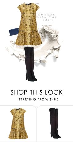 """""""My snakeskin"""" by celiasoini ❤ liked on Polyvore featuring STELLA McCARTNEY and Stuart Weitzman"""