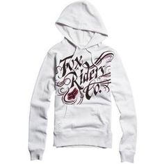 Fox Racing Women's Savvy Pullover Hoodie - Medium/White by Fox Racing, http://www.amazon.com/dp/B008DR4FMQ/ref=cm_sw_r_pi_dp_Oovsrb1KSHCPE