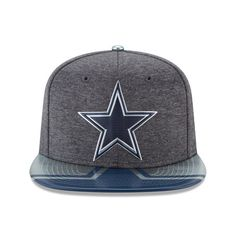 Dallas Cowboys Men's New Era 2017 NFL Draft Spotlight Original Fit 9FIFTY Snapback Adjustable Hat – Graphite – Dallas Sports Fan Shop