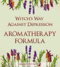 Aromatherapy against depression sadness negative feeligns
