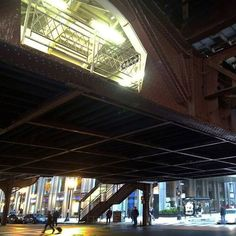 #metroelevado #estructura #metalica #taller582 #highline #structure #metalframe #chicago #loop #wanderlust