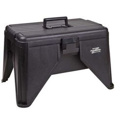 This Step Stool Tool Box provides an easy way to reach high items while storing additional  sc 1 st  Pinterest & OBO HAWK 20\