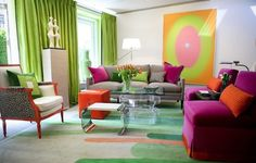 Hollywood Colors... bold creative color