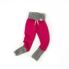 Basic Bold Pink - Skinny Sweats