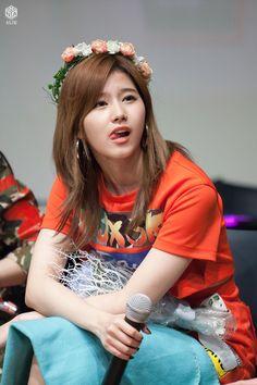 Sana-Twice 170608 강남팬싸 // Kpl That Lick Tho Hearteu