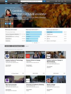 LinkedIn Flexes Its Search Engine Muscle, Adds College-Finding Tools For Students   TechCrunch