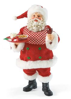 Delizioso - Italian Santa-Everything on Santa's plate is delizioso! Santa's favorite are the homemade raviolis Mrs. Claus made this afternoon.