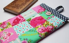 Fabric Tablet Cover eReader Kindle Jewel by ScarlettsCozyCottage