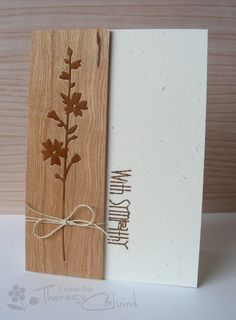 Very nice - with the darker die cut set into the negative space. I can use this idea!