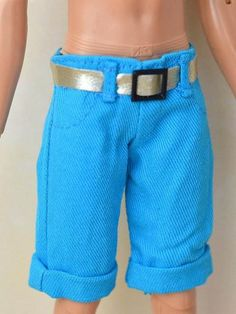 High Quality Handmade Shorts Pants For Barbie's Boyfriend Ken Doll Casual Clothes For Doll Male Doll Clothes