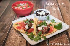 Fajita Street Tacos