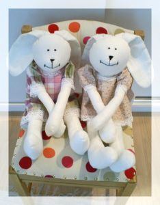 Signature Bunny Doll - DIY Craft Project Instructions free pattern