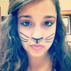 Cat Face Paint. Meowww