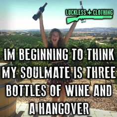That special moment when you find your soulmate...#wine.