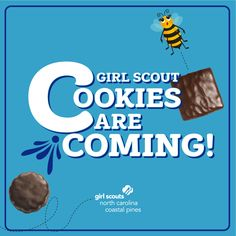 The wait is almost over… the 2021 Girl Scout Cookie Program kicks off on January 16th! We can't wait to see our Girl Scouts exceed their goals this year with their incredible entrepreneurial skills!