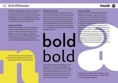 #Typo Tipps #Typedesign Basics Schriftklassen