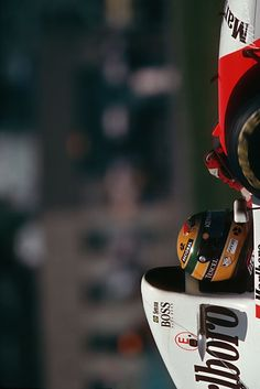 Ayrton Senna Canada 1993 McLaren Ford