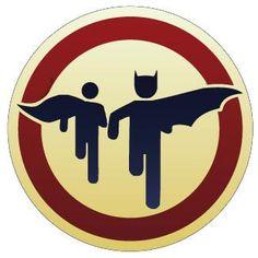 6 Batman and Robin Bat Signal Vinyl Sticker by hempco on Etsy  @scooterstweets @gp_pr @islandchick1220 @delsoul @Stephanie Glass @Farah Patel @starrackerman