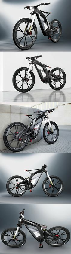AUDI Electric Bicycle : Wörthersee With the COE prices in SG, this might be the best way to own an Audi.