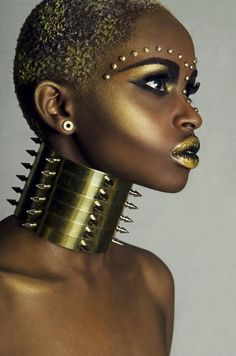 African queen by Striapunina  repinned by thecelestinecollection.com
