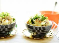 Romige aardappelsalade | Kookmutsjes Bbq, Food And Drink, Potatoes, Pasta, Salads, Seeds, Barbecue, Barrel Smoker, Potato
