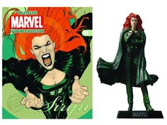 Magazine #159 Siryn with Figure - Marvel Statues, Busts, Prop Replicas Magazine & Lead Figure Collection
