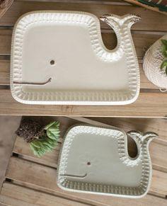 Happy whale platter