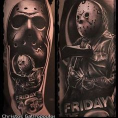 Some Awesome black & grey work from our friend & killer Ink Sponsored Artist @christos_galiropoulos