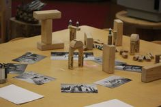 Construction Provocations – Rosa Parks ECEC More Reggio Emilia Classroom, Reggio Inspired Classrooms, Block Area, Block Center, Fairy Dust Teaching, Block Play, Construction Theme, Play Based Learning, Toddler Learning