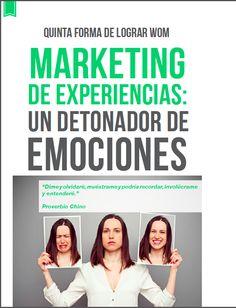 """""""El marketing que detona emociones, detona conversaciones"""" las experiencias son conversables , eso deben de buscar las marcas buenas conversaciones a través de grandes experiencias"""