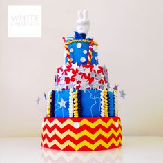 We don't usually do cakes like this but a darling little boy NEEDED it for his 2nd birthday!