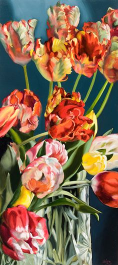 Gabor L. Nagy  Tulips for Easter